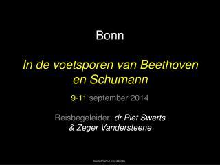 Bonn In de voetsporen van  Beethoven en  Schumann