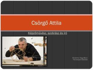 Csörgő Attila
