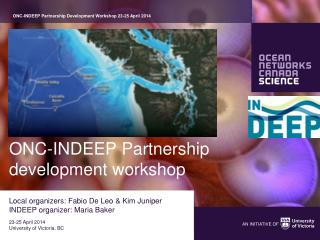 ONC-INDEEP Partnership development workshop