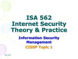 ISA 562