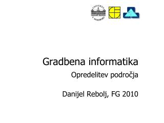 Gradbena informatika