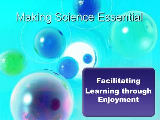 Making Science Essential