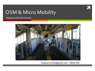 OSM & Micro  Mobility