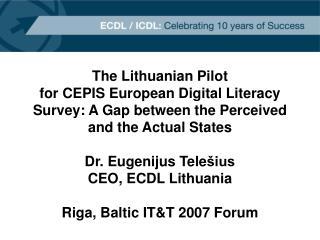 The Lithuanian Pilot