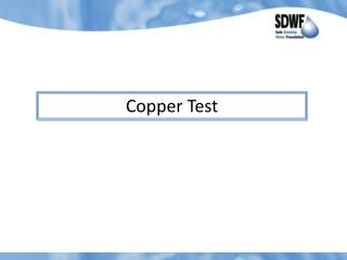 Copper Test