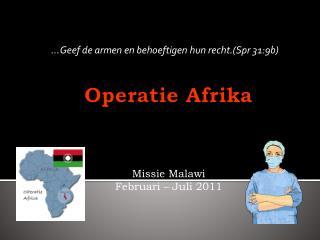 Operatie Afrika