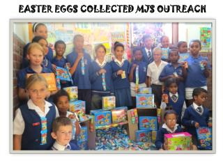 EASTER EGGS COLLECTED MJS OUTREACH