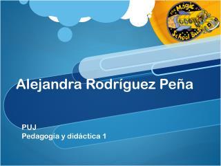 Alejandra Rodríguez Peña