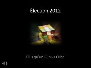 Élection 2012