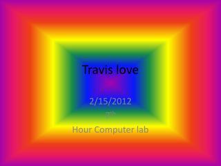 Travis love