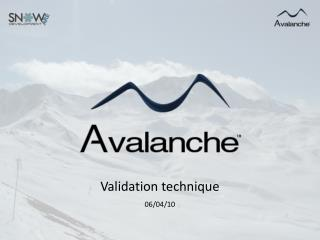 Validation  technique 06/04/10