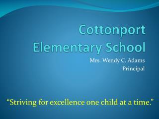 Cottonport Elementary School