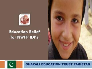 GHAZALI EDUCATION TRUST PAKISTAN