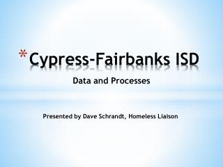 Cypress-Fairbanks ISD