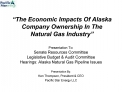 The Economic Impacts Of Alaska Company Ownership In The Natural Gas Industry