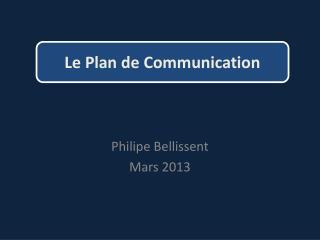 Philipe Bellissent Mars 2013
