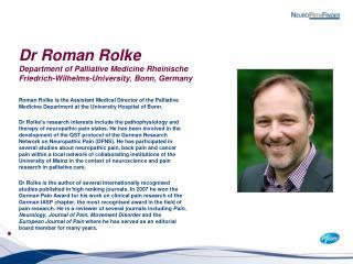 Roman Rolke bio Jan 2012