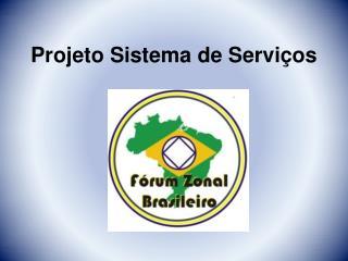 Projeto Sistema de Serviços
