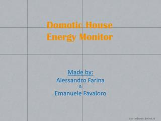 Domotic  House Energy Monitor