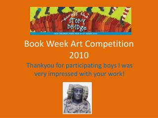 Book Week Art Competition 2010
