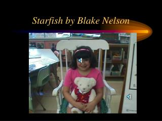 Starfish by Blake Nelson