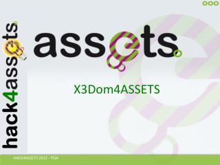 X3Dom4ASSETS