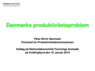 Danmarks produktivitetsproblem