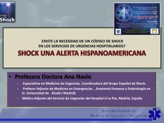 Profesora Doctora Ana Navío