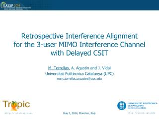 Retrospective Interference Alignment for the 3-user MIMO Interference Channel with Delayed CSIT