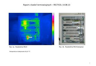 Raport z badań termowizyjnych – RECTICEL 14.08.13