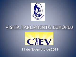 Visita parlamento europeu