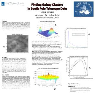 Finding Galaxy Clusters In South Pole Telescope Data