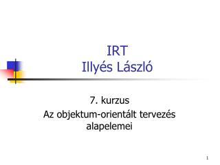 IRT Illy és László