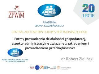 dr Robert Zieliński