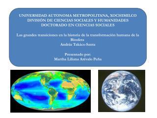 UNIVERSIDAD AUTONOMA METROPOLITANA, XOCHIMILCO DIVISIÓN DE CIENCIAS SOCIALES Y HUMANIDADES