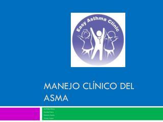 Manejo Cl�nico del Asma