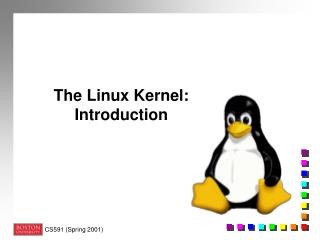 The Linux Kernel:  Introduction