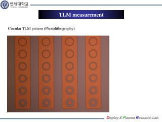 TLM measurement