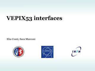 VEPIX53 interfaces