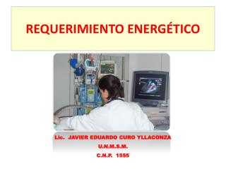 REQUERIMIENTO  ENERGÉTICO