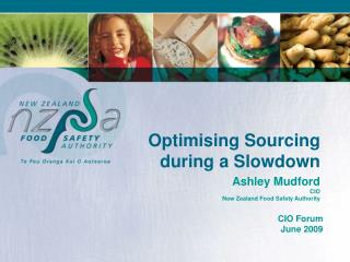 Optimising Sourcing during a Slowdown