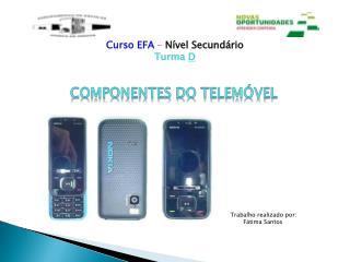 Componentes do telemóvel