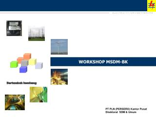 WORKSHOP MSDM-BK