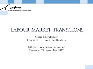 Labour   market  transitions