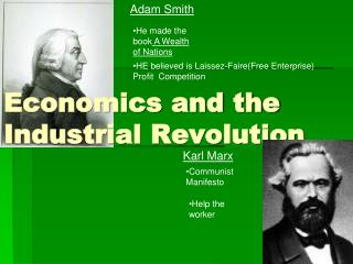 Economics and the Industrial Revolution