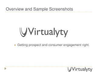 Virtualyty Intro (Use Cases)