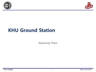 KHU Ground Station