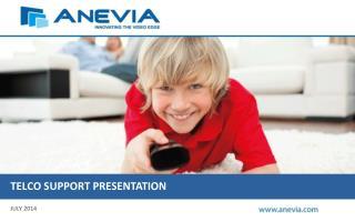 Telco  support  presentation