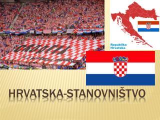 Hrvatska-stanovništvo