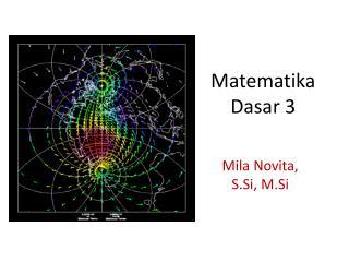 Matematika Dasar  3